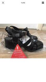 Women's jellies heels sandals brand New With Tags RRP £18 size 6