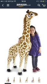 Melissa & Doug Giraffe 1.2m Tall