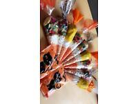 Halloween sweet cones + more