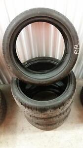 (176) Pneus d'Hiver - Winter Tires 225-40-18 Pirelli RunFlat