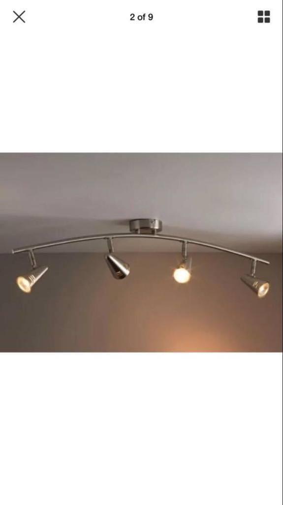 4 Spotlight Ceiling Bar Kitchen Light Dining Living Room