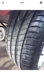 """Vauxhall Astra 17"""" Alloy and tyre"""