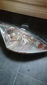 Ford Focus headlight. Drivers side mk2.