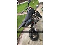 YX 140 Welsh Pit Bike crf70 frame