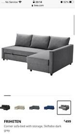 Free - parts of a the FRIHETEN Corner sofa-bed with storage