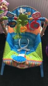 Fisher price baby seat - used