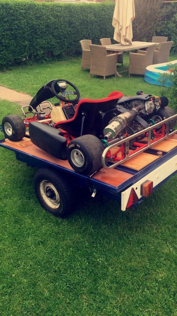 Honda GX390 go kart , race tuned , performance parts upgrades , 4 stroke |  in Bingham, Nottinghamshire | Gumtree