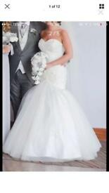 Amazing Wedding dress 8-10