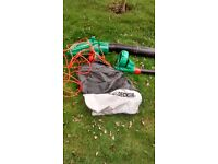 Black and decker leaf blower hardly used
