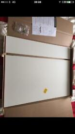 800mm gloss white bath end panels x 7