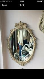 Heavy Ornate mirror