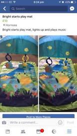 Bright starts play mat