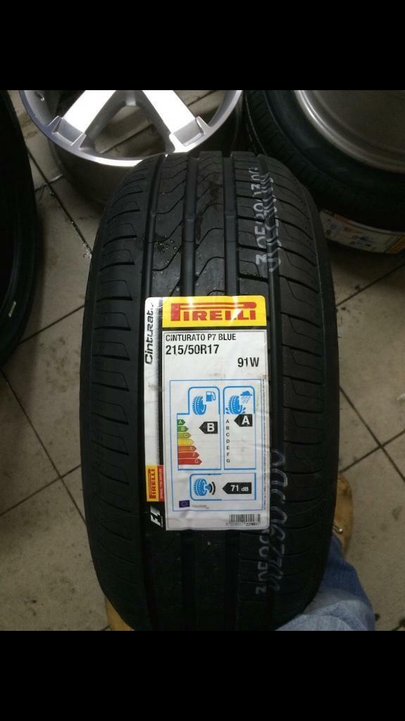d0a36cdeb 215 50 17 pirelli tyre X1 brand new