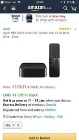 Apple TV 4 32 gig for swaps