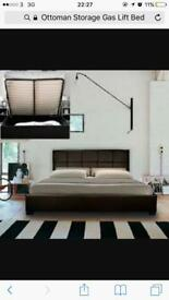 Double Ottoman Bed (5 Months old)