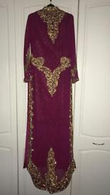 Asian suit/dress - never worn - bridal/party wear
