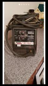 Lincoln 170 welder gas or gas less