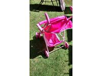 girls hello kitty buggy