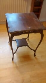 Ornate occasional table