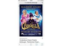 Cinderella panto tickets