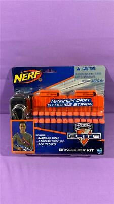 Nerf N-strike Elite Bandolier Kit 24 Darts, 2 Clips And Strap