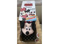 Minnie Mouse Stompeez Slippers (size 7-9)
