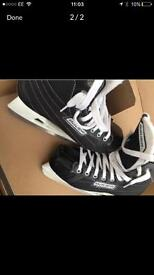 Bauer ice skates like new