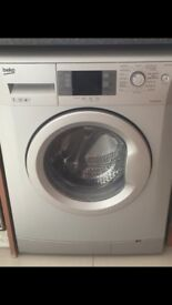 Used Beko A++ 7kg 1400 Spin Washing Machine in Silver