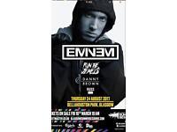 Eminem tickets x4 face value