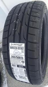 205/50/15 DUNLOP DZ102 NEUF...(378$ taxes incluses)