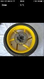 Honda CBR 600 Wheel