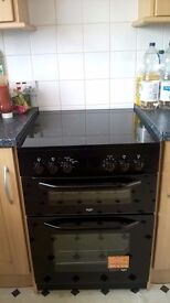 "cooker from Bush ( top oven and main oven, grill) R.R.P. £469 ""Offers accepted"