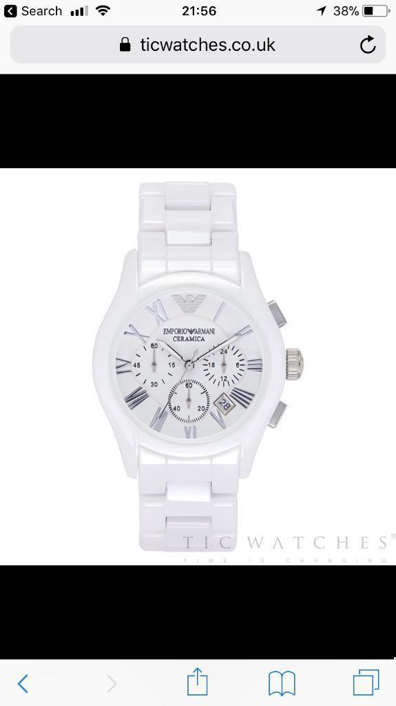 Genuine Armani Watches