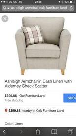 Arm chair brand new Oak furniture land