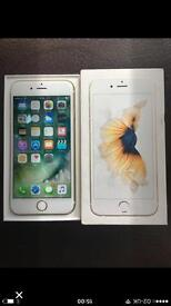 iPhone 6s 32Gb Gold Immaculate Condition with Box