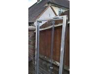 Shower door. Bi-Fold, 700mm wide