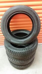 (H213) Pneus Hiver - Winter Tires 245-55-19 Bridgestone 9/32