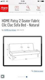 Click clack sofa bed - unused