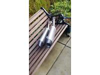 Yamaha r1 genuine exhaust system