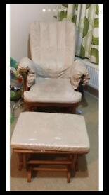 Nursing chair/ Breastfeeding Chair/rocking chair