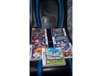 nintendo 2ds with 7 games