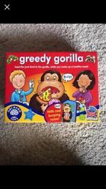 Greedy gorilla orchard toy