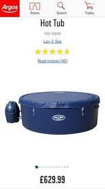 MONACO LAZ-Y SPA / HOT TUB FOR SALE IN ARGOS £629.99