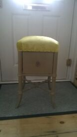 funky stool with drawer