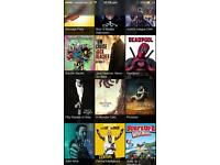 Unlimited movies iPhone,iPad,Apple TV,iPod