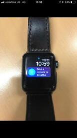 Apple Watch Series 2 38mm screen Black