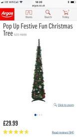 Pop up Christmas Xmas tree
