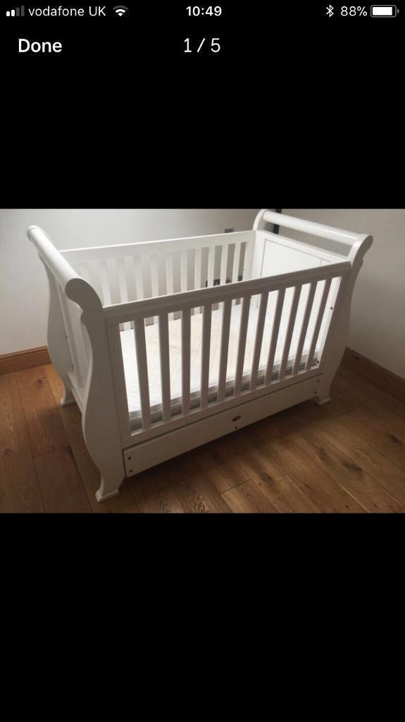 Boori Cot Bed And Nursery Furniture Set