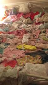 Baby girls massive bundle of clothes 5lb up to 12 months