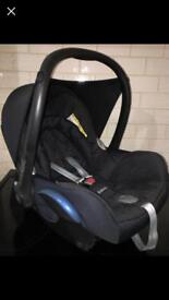 Maxi Cosi Baby CabrioFix car seat From newborn